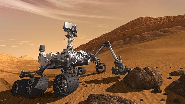 Curiosity robotkar