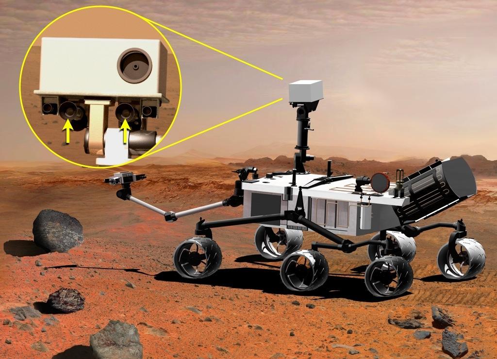 A Curiosity fő képalkotó műszere.