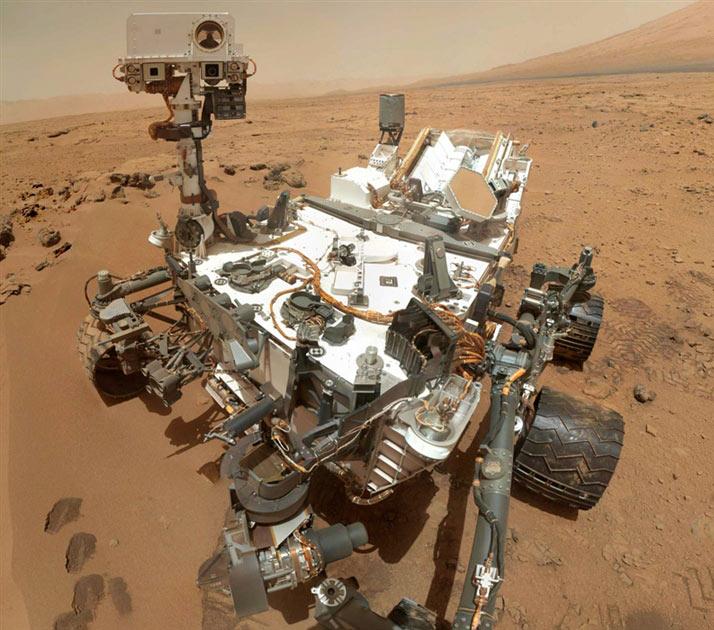 Curiosity Mars-járó